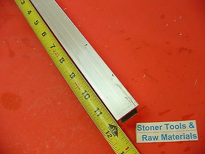 "1""x 1""x 1/8"" Wall x 12"" Long ALUMINUM SQUARE TUBE 6063 T52 1""SQ x .125"""