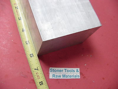 "3"" X 4"" ALUMINUM 6061 FLAT BAR 6.0"" LONG SOLID T6511 3.00"" Plate Mill Stock"