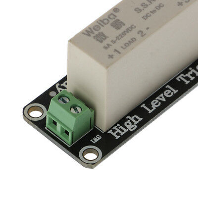Hot 1 Channel SSR Solid State Relay High-low Trigger 5A 3-32V For Arduino Uno R3