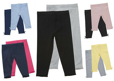 Girls Two Pack Leggings Baby 0-3m up to Older Girls 5-6 Years Choice of Colours