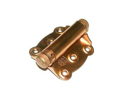 "New Bommer  2100-639  Spring Loaded Screen Door Hinge 3"" X 3"" Bronze Plated"