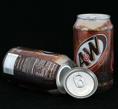 A&W Root Beer Stash Diversion Safe Can New