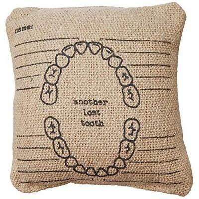 Primitives by Kathy Another Lost Tooth Pillow, 5.25-Inch by 5.25-Inch New