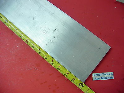 "3/4"" X 5"" ALUMINUM 6061 FLAT BAR 24"" long .750"" Solid Plate T6511 Mill Stock"