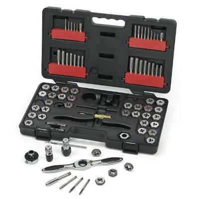 GearWrench 3887 Tap and Die 75 Piece Set - Combination SAE / Metric New