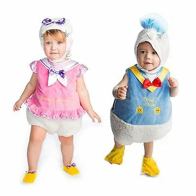 *Travis Deluxe Baby Disney Daisy Donald Duck Toddler Fancy Dress Costume Outfit*
