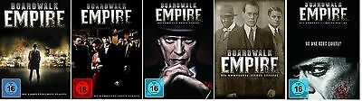 Boardwalk Empire Staffel 1-5 (1+2+3+4+5) DVD Set NEU OVP Die komplette Serie