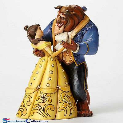 Jim Shore Disney Belle and Beast Dancing by Heart 4049619 New 2015