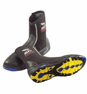 NEW Size US9 IST S55 Titanium Lined Dive Boots - DIVING KAYAKING REEF FISHING