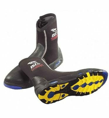 NEW Size US10 IST S55 Titanium Lined Dive Boots - DIVING KAYAKING REEF FISHING