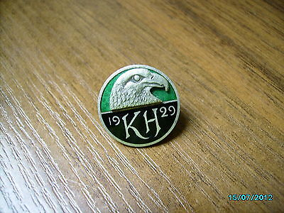 1929 Finland Very Nice Old Badge Medal With Eagle , Kh, Military? Boy Scout ?