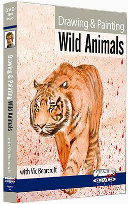 Vic Bearcroft, Drawing & Painting Wild Animals DVD