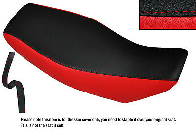 Red & Black Custom Fits Honda Msx 125 Grom Dual Leather Seat Cover