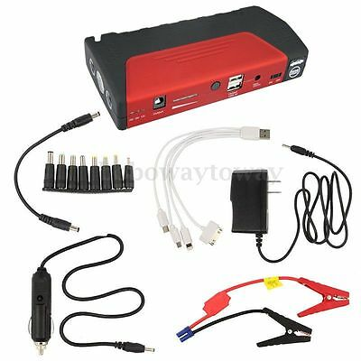 50800mAh Portable Car Jump Starter Pack Booster Charger Battery&Power Bank NEW