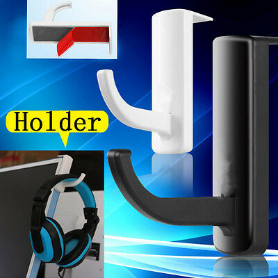 Portable PC Monitor Headphone Headset Hanger Holder Wall Stand for Sony AKG