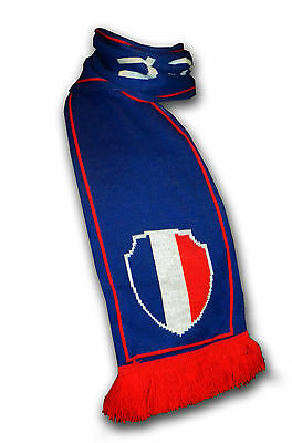 Official France soccer football knitted supporter fan scarf ultras