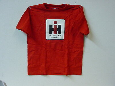 International Harvester Child T-Shirt With Ih Logo, New, Size 4T