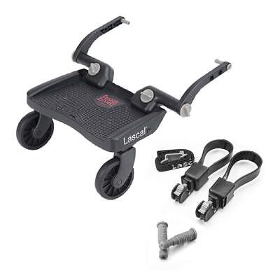 Lascal BuggyBoard MINI (3D Red) with Universal Connectors