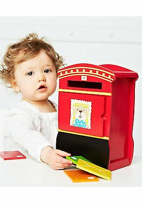 ELC Children Kids Creative Education Learning  Wood Wooden Post Box Postbox Toy