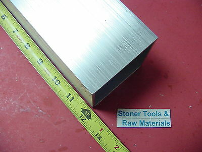"3""x 3""x 1/8"" Wall x 12"" Long ALUMINUM SQUARE TUBE 6063 T52 3"" SQ x .125"""