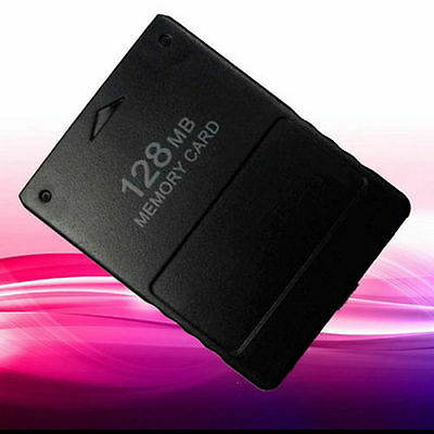 128MB Memory Card Save Game Data Stick Module For Sony PS2 PS Playstation New GH