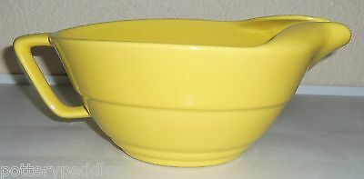 Franciscan Pottery Yellow Specials #S-67 Handled Batter Bowl!