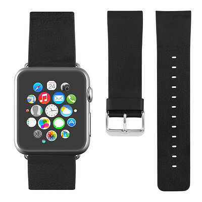 kwmobile  WATCH BAND FOR APPLE WATCH 42MM (SERIES 1 SERIES 2) BLACK SYNTHETIC