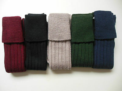 Hunting/Shooting/Breeks/Plus four/Kilt socks, 4-7 and 8-11, choice of 5 colours