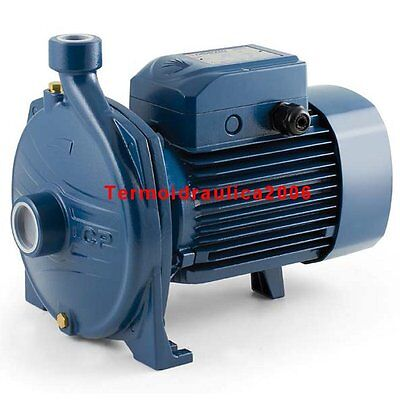 Electric Centrifugal Water Pump CP 160C 1,5Hp Brass impeller 400V Pedrollo