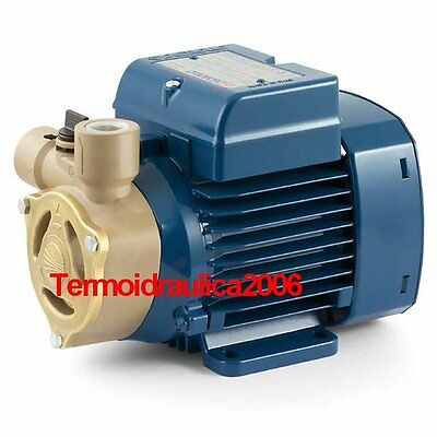 Electric Water Pump with peripheral impeller PQA 60 0,5Hp 400V Pedrollo