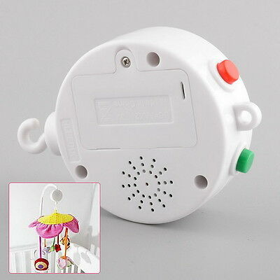 12 35 Melodies Song Baby Mobile Crib Bed Bell Electric Autorotation Music Box