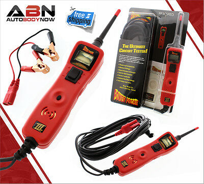 Power Probe 3 Circuit Tester - PP3CS in Red - Voltmeter
