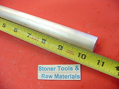 "3/4"" ALUMINUM 6061 ROUND ROD 10.5"" long Solid T6511 .75 Diameter Lathe Bar Stock"