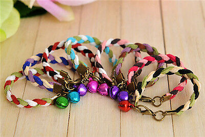 Colorful Cute Small Pet Animal Ferret Hamster Rat Mouse Collar with Bell C987