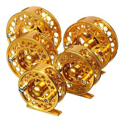 3/4 5/6 7/8 Golden Piscifun CNC Aluminum Hardy Fly Fishing Reel Disk Drag River