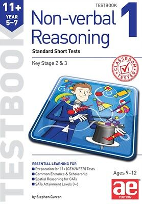 11+ Non-Verbal Reasoning Year 5-7 Testbook 1: Multiple Choice Tes. 9781910107744