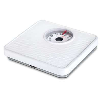 Soehnle Personal Scales Tempo Analogue, Scales, Body Scales, 130 kg. White 61098