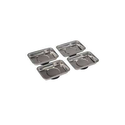 Silverline 95 x 65mm Magnetic Tray Set 4pce Automotive - 250007