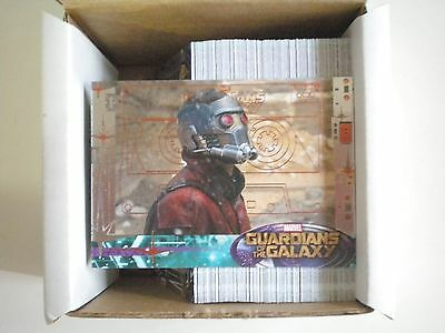 2014 Upper Deck Guardians of the Galaxy Bronze Parallel 90 Cards Complete Set