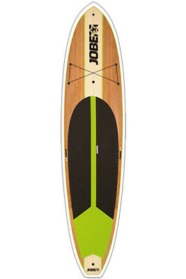 JOBE BAMBOO 11ft STAND UP PADDLE BOARD SUP WITH OPTIONAL PADDLE PACKAGE