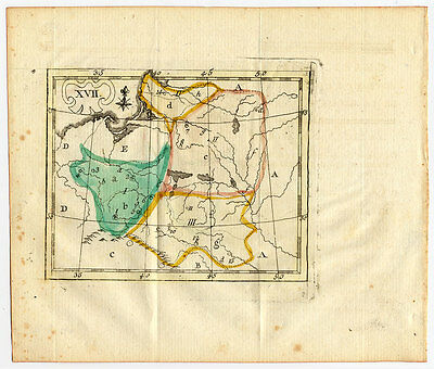 Antique Map-POLAND-KINGDOM-Schneider-Bruyset-1785