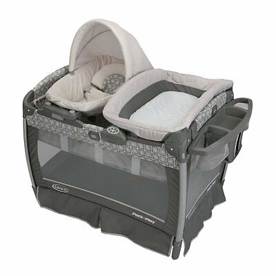 Graco Pack 'n Play Portable Playard & Nuzzle Nest Sway Seat, Finland   1896392