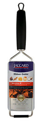 Jaccard MicroEdge Stainless Steel Ribbon Paddle Grater with Cover | 201201R