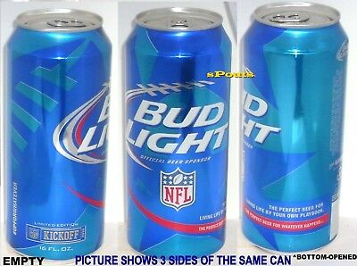 2015 Pint Bud Light Nfl Kickoff Sport Football The Perfect Beer Can For Man Cave