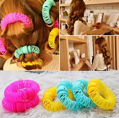 Hairdress Magic Bendy Hair Styling Roller Curler Spiral Curls DIY Tool 6pcs 8pcs