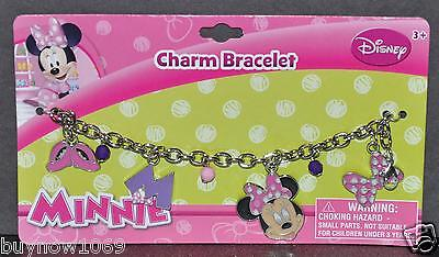 Minnie Mouse Charm Bracelet Disney Gift Girls Birthday Gift New Jewelery Metal P