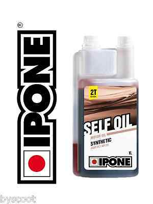Huile IPONE Self Oil 2T moto semi-synthese motocross cyclomoteur mobylette NEUF