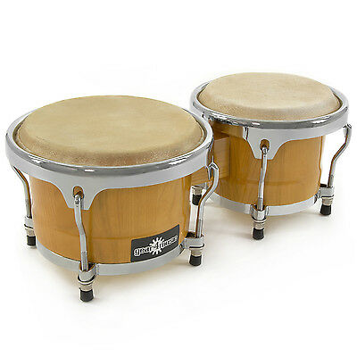 New Bongos 7'' + 8.5'' Set (pair) by Gear4music