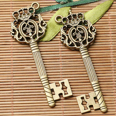 4pcs antiqued bronze color 2sided crafted floral hand palm  charms  EF3466