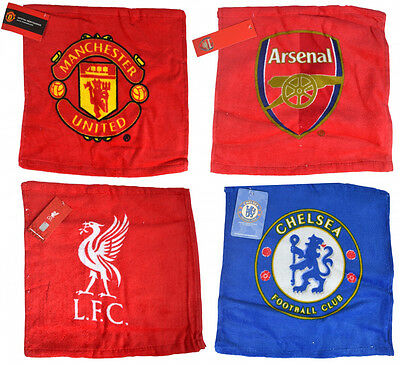 Football Club Official Team Sport Gift Branded Bathroom Flannel Towel Face Cloth